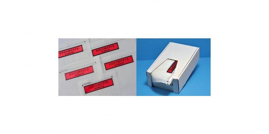 pochette adhésive porte documents