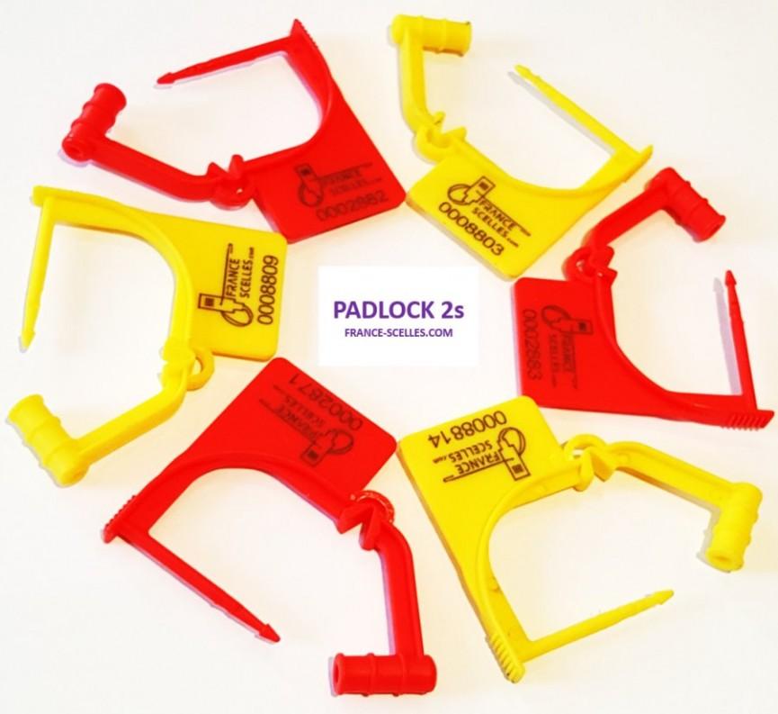 scellés cadenas a usage unique padlock 2s france scelles