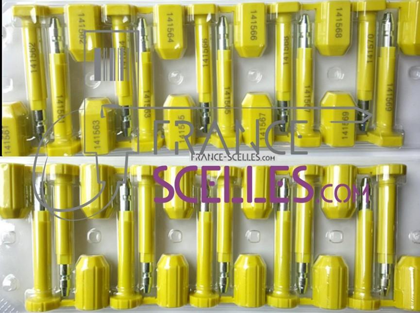 Scellés container normes isopas17712 CBS2 France Scellés
