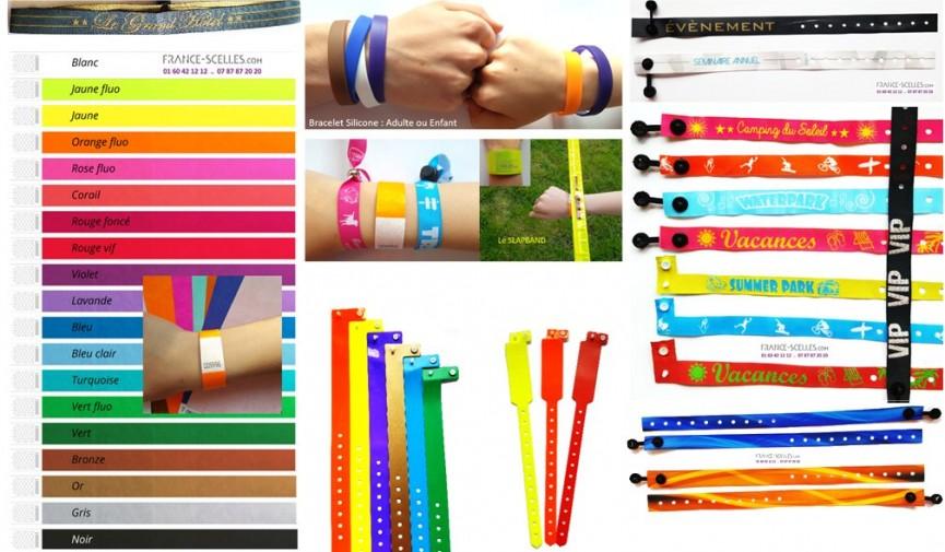 bracelets d´identification et de contrôle d'accès