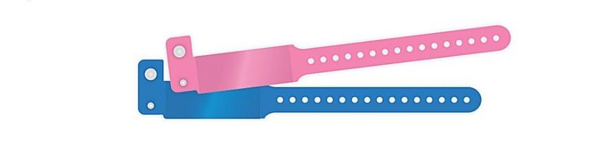 Bracelets à rabat enfants en milieu hospitalier