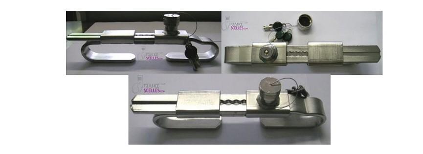 Scellé container à clés ou plomb bouteille