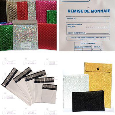 Pochettes et enveloppes de sécurité
