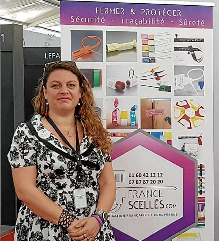 Vanessa Delesderrier diri geante et fondatrice de France Scellé